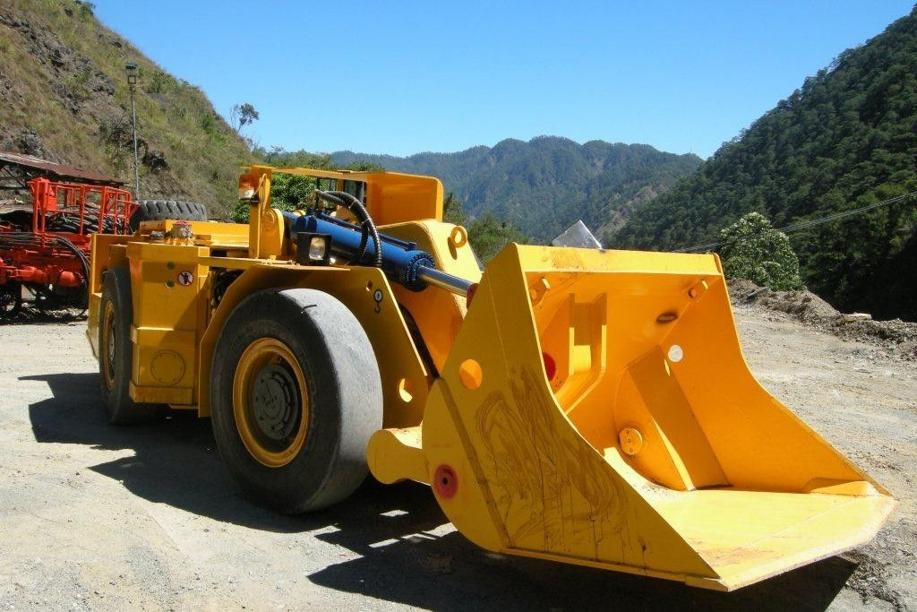 1m³ / 1CBM  Load Haul Dump Machine for Small Scale Rock Excavation
